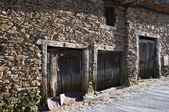 Traditional stone houses — Stock Photo