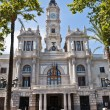 图库照片: City Hall of Valencia