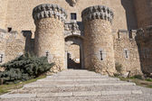 New Castle of Manzanares el Real — Stock Photo