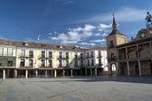 Main Squere of El Burgo de Osma. — Stock Photo