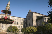 монастырь сан-франциско — Стоковое фото