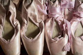 Pointe shoes — Stock Photo
