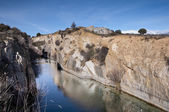 Small granite quarry — Stock Photo