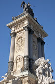 Monument to King Alfonso XII — Stock Photo