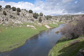 Manzanares River — Stock Photo