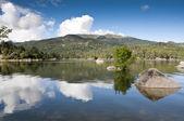 Reservoir of El Burguillo — Stock Photo