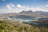 Zahara El Gastor Reservoir — Stock Photo
