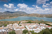 Zahara El Gastor Reservoir — Stock Photo