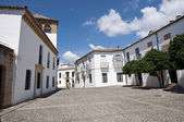 Traditional street in Ronda village — Stockfoto