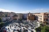 Piazza di spagna — Stok fotoğraf