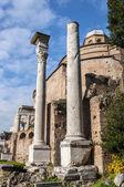 Temple of Romulus — Stock Photo