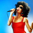 Pop singer — Stock Photo #21766177