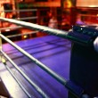 Empty boxing ring abstraction — Stock Photo