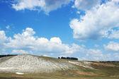 Kalkstein-hügel-landschaft — Stockfoto