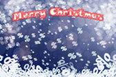 рождественские продажи фон — Стоковое фото