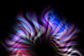 Abstract background with colored lines in center — Stock Photo