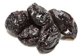 Handful of prunes — Stock Photo