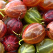 Healthy food: gooseberries - Stock Photo