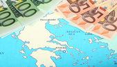 Europa aiuta grecia — Foto Stock