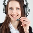 Call center operator — Stock Photo #14774801