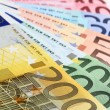 Euro banknotes (fan) — Stock Photo