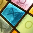 Ouths and crosses (tick-tack-toe, noughts and crosses) — Stock Photo