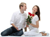 Cita romántica — Foto de Stock