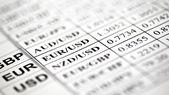 Valuta över priser — Stockfoto