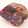 Chalcopyrite, a copper ore - Stock Photo