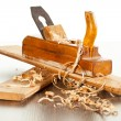 Wood plane - Stock Photo