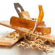 Stock Photo: Wood plane