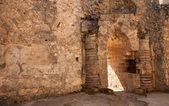 Saint Hilarion Castle — Stock Photo