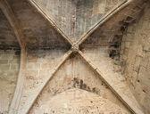 Fragment of Bellapais Abbey's interior — Stock Photo