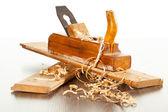 Wood plane — Stock Photo