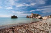 Aphrodite's legendary birthplace — Stockfoto