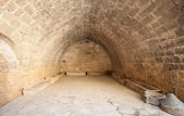 Fragment of medieval fortress' interior — Stock Photo