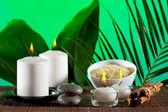 Aromaterapie a lázeňské složení — Stock fotografie