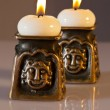 Pair of candles - Stok fotoğraf