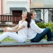 Romantic young couple in love — Stock Photo #21179129