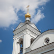 Cupola of Orthodox church - Stock Photo