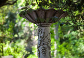 Fountain in the summer park — Stock Photo