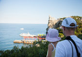 Near Castle Swallow's Nest, Yalta — 图库照片