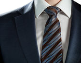Elegant businessman wearing formal suit and tie — Stock Photo