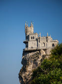 The well-known castle Swallow's Nest near Yalta — Stock Photo