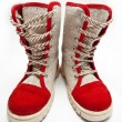 Child's flax boots  — Stockfoto