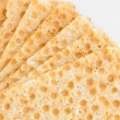 Bread crisps background — Stock Photo