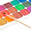 Stock Photo: Watercolour paint