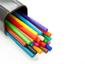 Colorful markers — Stock Photo