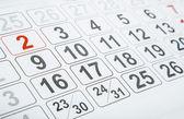 Calendar — Стоковое фото