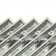 USD paper currency — Stock Photo
